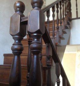 Изготовление лестниц, монтаж, установка ограждений