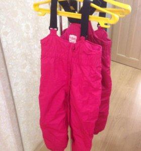 Зимние тёплые штаны твое новые на 1-1.5г