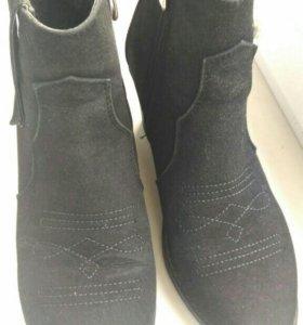 Ботинки, 39 р.ботильоны