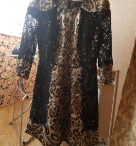 Платье 44 шелк
