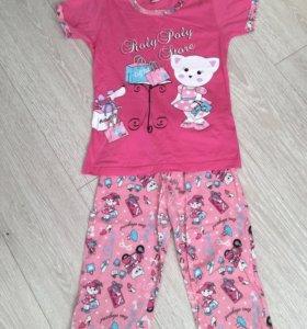Пижама размер 122