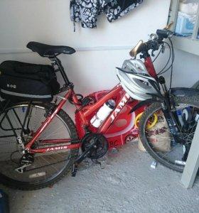 велосипед 🚲 jamis xtrail 2