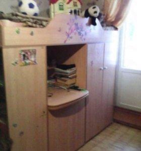 Письменный стол-кровать