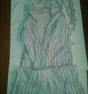 Банный халат.