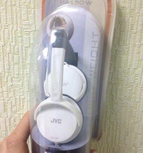 Наушники новые JVC