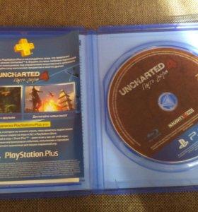 Игра для PS4 Uncharted 4 Путь Вора