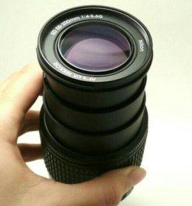 Новый объектив Nikon AF-S DX ED 55-200mm