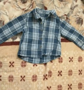 Рубашка для мальчика 1,5-2 года