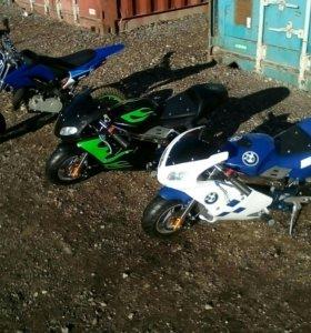 Новый детский мотоцикл 49 куб