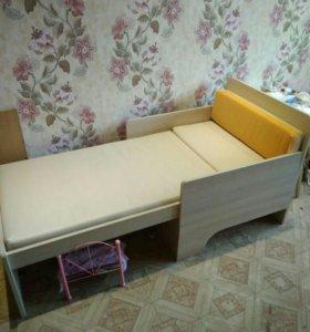 Детская кровать Вырастайка