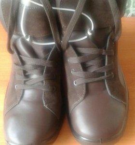 НОВЫЕ ботинки .