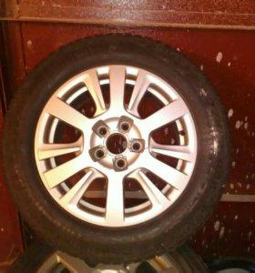 Диски с колесами зима 225/65 r16