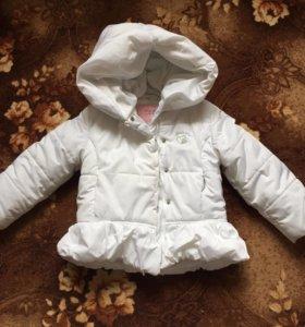 Куртка для девочки 2-4 года