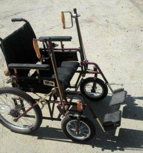 Инвалидная коляска совсем новая