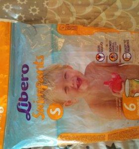 Подгузники-трусики для плавания Libero (7-12 кг)