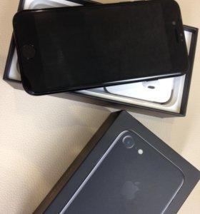 Apple iPhone 7 Jet Black 128Gb чёрный оникс A1778
