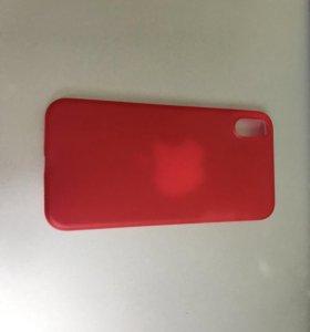 Чехол для IPhone X красный