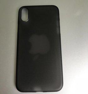 Чехол для IPhone X чёрный