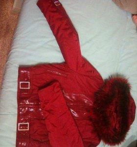 Куртка женская , демисезонная , размер 44.