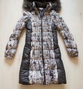 Зимнее пальто (не пуховик) для беременных 44-46