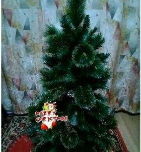 Новая елка с шишками