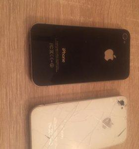 Apple iPhone 4 S  (за два )