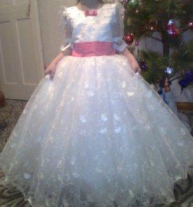 Шикарное платье для Золушки!!! От 7 лет