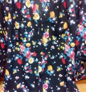 Блузка-рубашка Terranova