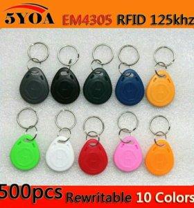 Ключи (заготовки) для домофона Визит EM4305 Т5577