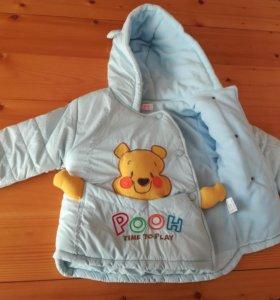 Куртка детская теплая новая