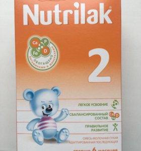 Молочная смесь Nutrilak 2