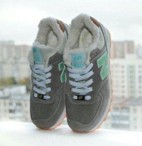 Кроссовки зимние New Balance