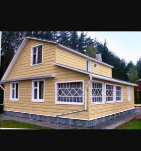 Заборы,теплицы,сайдинг,окна,двери,натяжные потолки