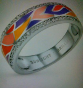 Кольцо, серебро 925