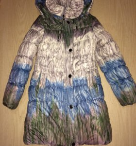 Зимнее пальто р.140-146