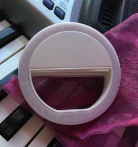 Селфи кольцо для фото селфи  светодиодное ✅❤️😍