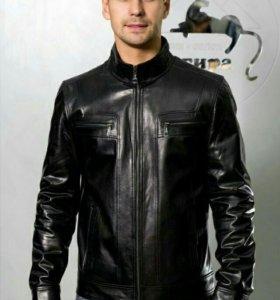Стильная Кожаная куртка (новая)