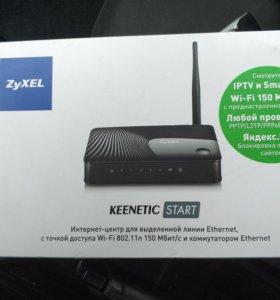 WiFi-роутер Zyxel Keenetic Start