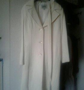 Пальто кашимированое