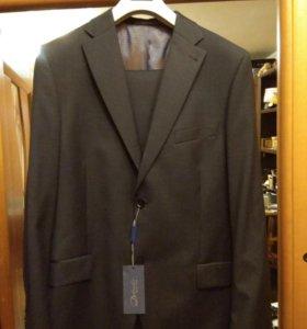 НОВЫЙ муж. костюм 56 р-р 188рост. 100%шерсть.Торг.