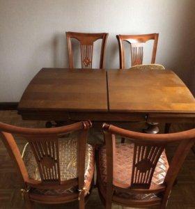 Комплект стол + 4 стула ЮТА