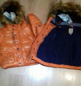 Новая куртка 86, 98, 104