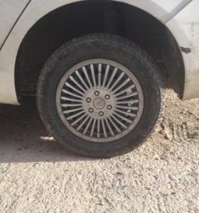 Продам колеса на зимней резине
