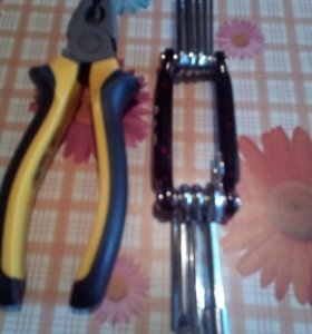 Набор ключей пассатижи велосипедный насос