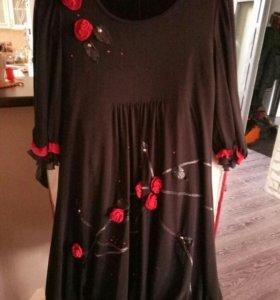 Нарядное платье 50-52р.