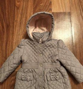 Куртка на девочку motehrcare