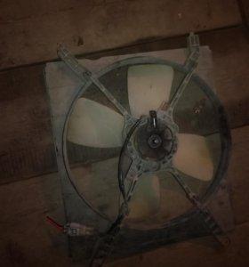 Вентилятор радиатора тайота камри