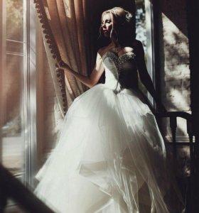 Свадебное платье от дизайнера Оксаны Муха