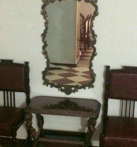 Зеркало со столиком