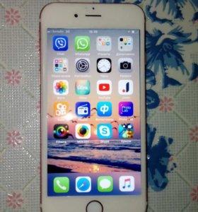 Продам или обменяю Айфон 6s 16gb(розовое золото)